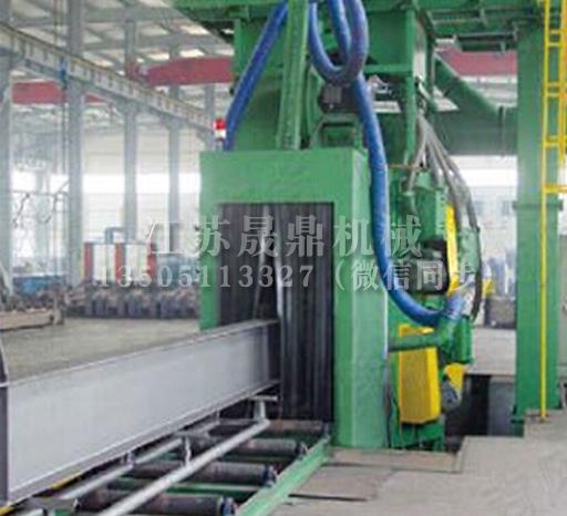 QZW系列钢管抛丸清理机